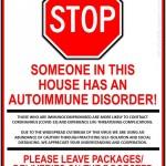autoimmune sign