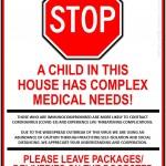 child medical sign