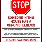 chronic illness sign