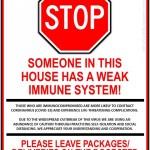 immune system sign